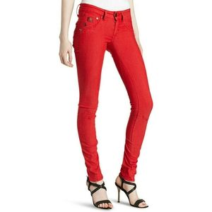 NWT G-Star Raw Arc 3D Super Skinny Red Jeans